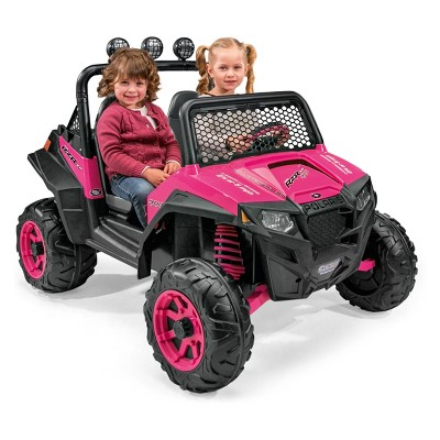 Peg Perego 12V Polaris RZR 900 Powered Ride-On - Pink