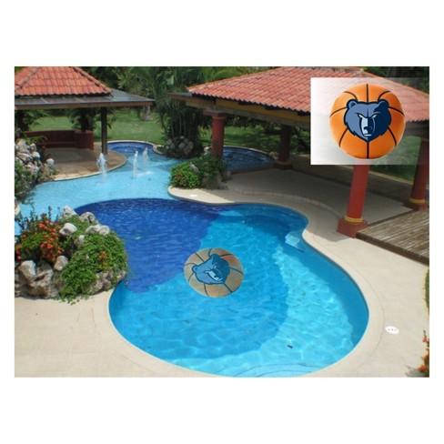 NBA Memphis Grizzlies Large Pool Decal