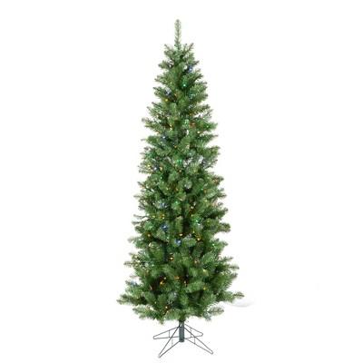 Vickerman Salem Pencil Pine Artificial Christmas Tree