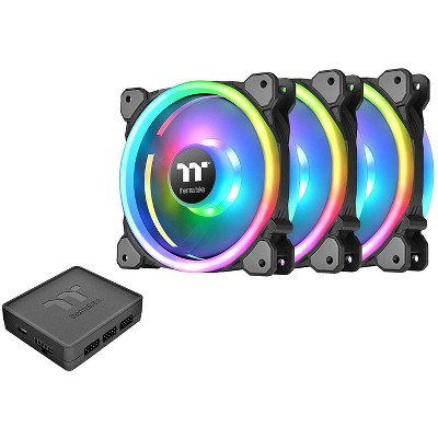 Thermaltake Riing Trio RGB Software Enabled Case Fan - Three Pack