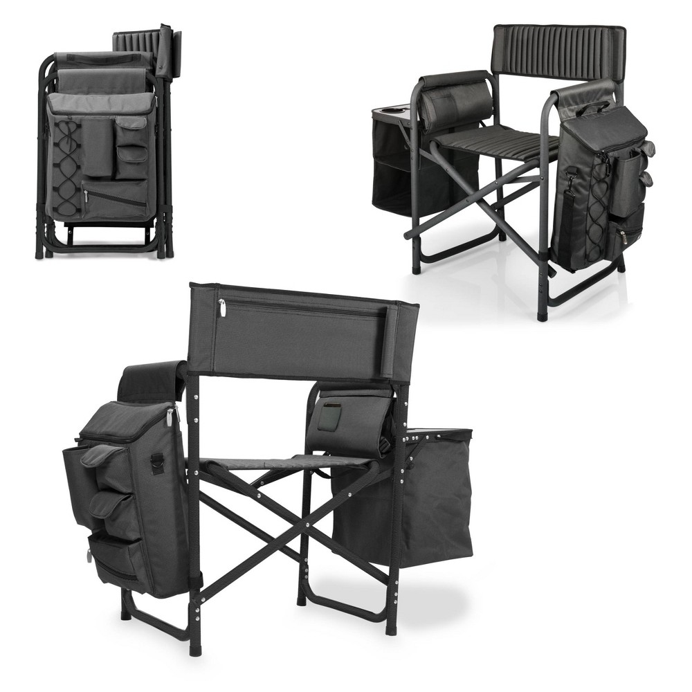 Picnic Time Fusion Chair - Black