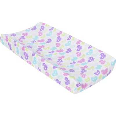 MiracleWare Muslin Changing Pad Cover Butterflies