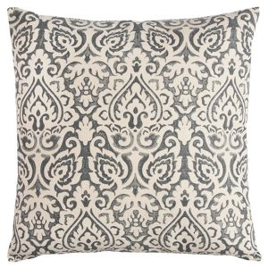 22 X22 Dulane Damask Square Throw Pillow Rizzy Home Target