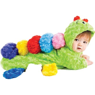 Baby Colorful Caterpillar Bunting Costume 0-6M - Underwraps Costumes