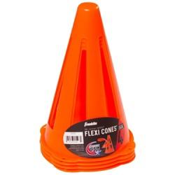 Franklin Sports MLS® Flexi Cones - 4ct