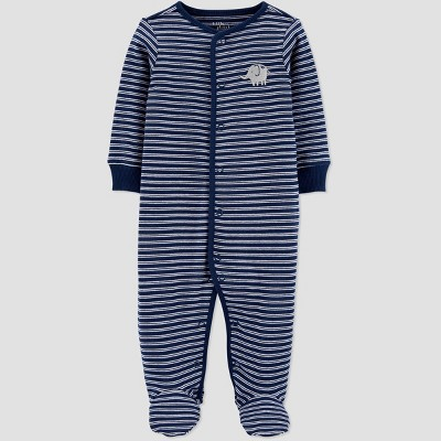 Baby Boys' Sleep N' Play - little planet organic by carter's Navy Newborn
