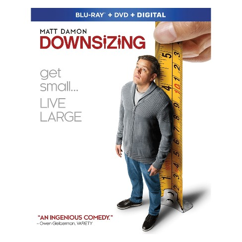 Downsizing (Blu-ray + DVD + Digital) - image 1 of 1