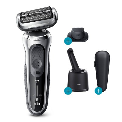 Braun Series 7-7071cc Men's Rechargeable Wet & Dry Electric Foil Shaver System