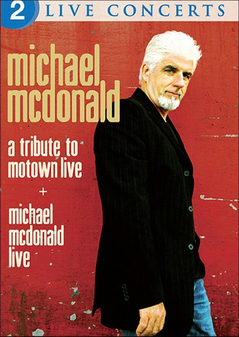 Michael mcdonald:Live/Tribute motown (DVD) - image 1 of 1
