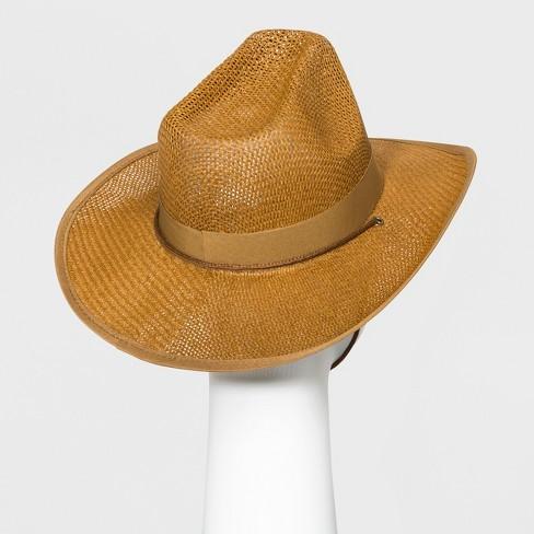 eae0a70aaf9 Women s Panama Hat - Universal Thread™ Brown   Target