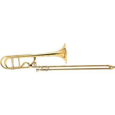 Bach 42BOF Stradivarius Centennial Series Professional F-Attachment Tenor Trombone Lacquer Yellow Brass Bell