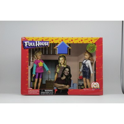 "Mego Full House DJ /& Stephanie Tanner 8/"" Figure Set 2018 Marty Abrams 10000 LE"