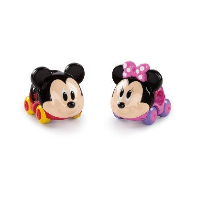 Bright Starts Disney Go Grippers Mickey or Minnie Assortment - 1 Car, Character will Vary