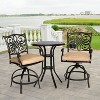 Hanover Traditions 3-Piece High-Dining Bistro Set - image 7 of 8