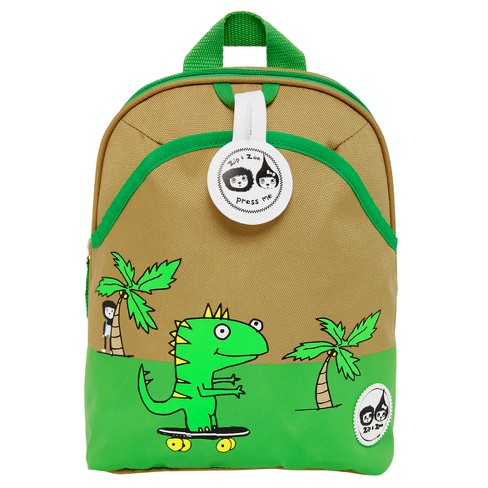 Zip & Zoe Mini Kids' Backpack & Safety Harness - Dylan Dino Palm - image 1 of 8