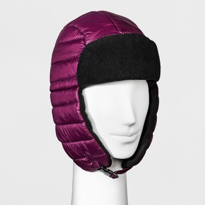53fbb0981636c Women s Quilted Trapper Hat – C9 Champion® Purple – Target Inventory ...