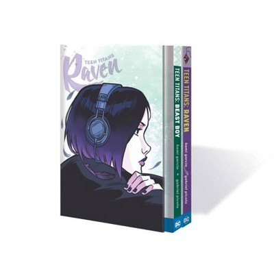 Teen Titans: Raven and Beast Boy Hc Box Set - by  Kami Garcia (Mixed Media Product)