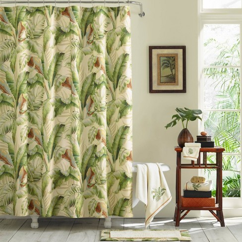 Palmiers Shower Curtain Green - Tommy Bahama - image 1 of 3