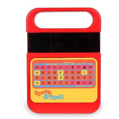 Speak & Spell Electronic Game by Speak & Spell