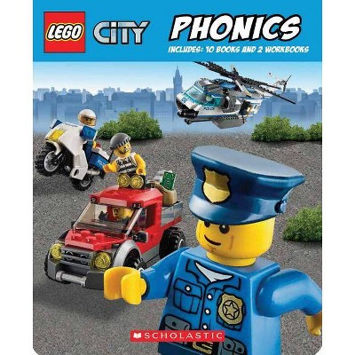 Phonics Boxed Set - (Lego City) by  Quinlan B Lee (Mixed Media Product)
