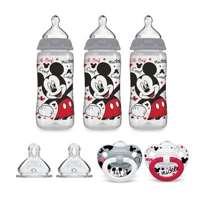 NUK Bottle & Pacifier Newborn Set - Mickey Mouse