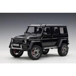 Mercedes Benz G500 4X4 2 Gloss Black 1/18 Model Car by Autoart