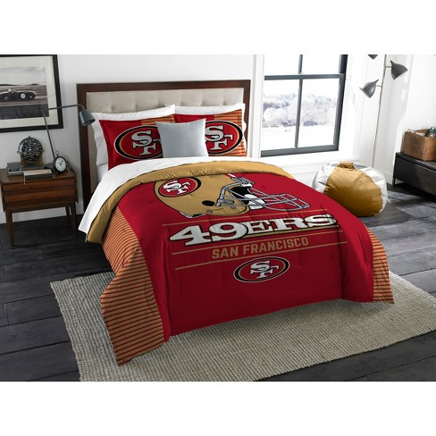 NFL San Francisco 49ers The Northwest Co. King Size Printed Comforter & Sham - image 1 of 3
