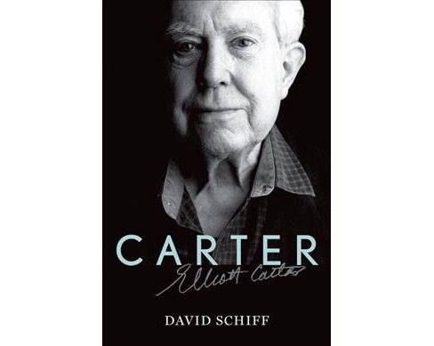 Carter -  (Master Musicians Series) by David Schiff (Hardcover) - image 1 of 1