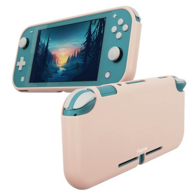 Insten Silicone Case for Nintendo Switch Lite - Shockproof Protective Cover Accessories with Smooth Grip, Pink