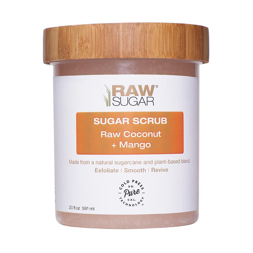 Raw Sugar Raw Coconut + Mango Sugar Scrub - 20 fl oz