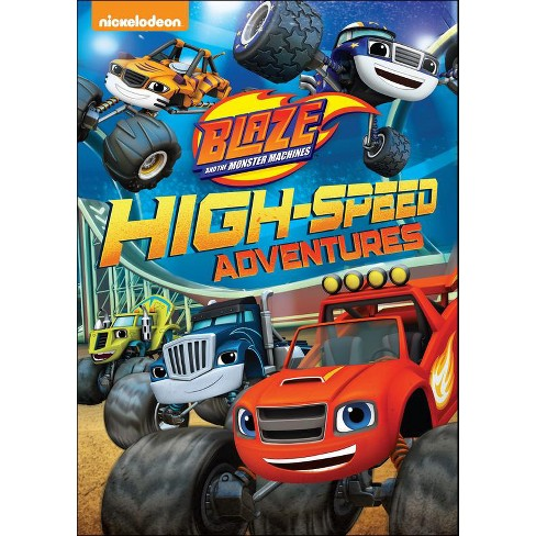 Blaze and the Monster Machines: High-Speed Adventures (DVD) - image 1 of 1