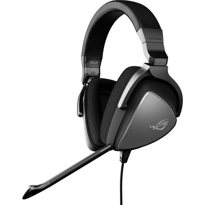 Asus ROG Delta Core Gaming Headset - Stereo - Mini-phone - Wired - 20 Hz - 40 kHz - Over-the-head - Binaural - Circumaural