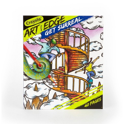 Crayola Art with Edge Coloring Book - Get Surreal - image 1 of 4