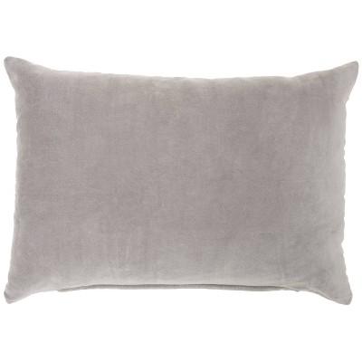 Solid Velvet Throw Pillow - Nourison