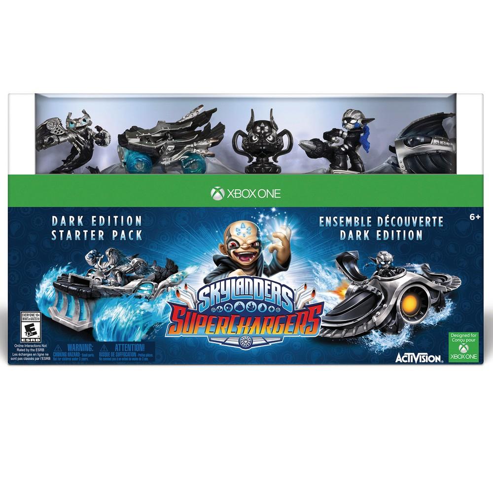 Skylanders SuperChargers Dark Edition Starter Pack Xbox One