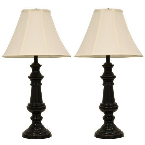 Pair Of Touch Control Table Lamps Bronze  - Decor Therapy - image 1 of 3