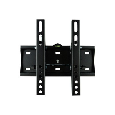 Nippon America MTE-1442T Fixed LCD/LED Adjustable Flat Screen TV Panel Wall Mount Bracket for 14 to 42 Inch Wide TVs for Television or Monitor