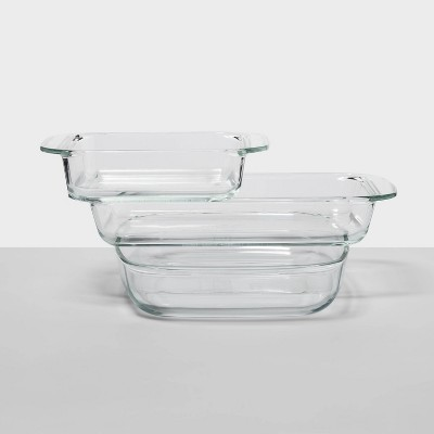 Set of 3 Glass Baking Dishes - Made By Design™