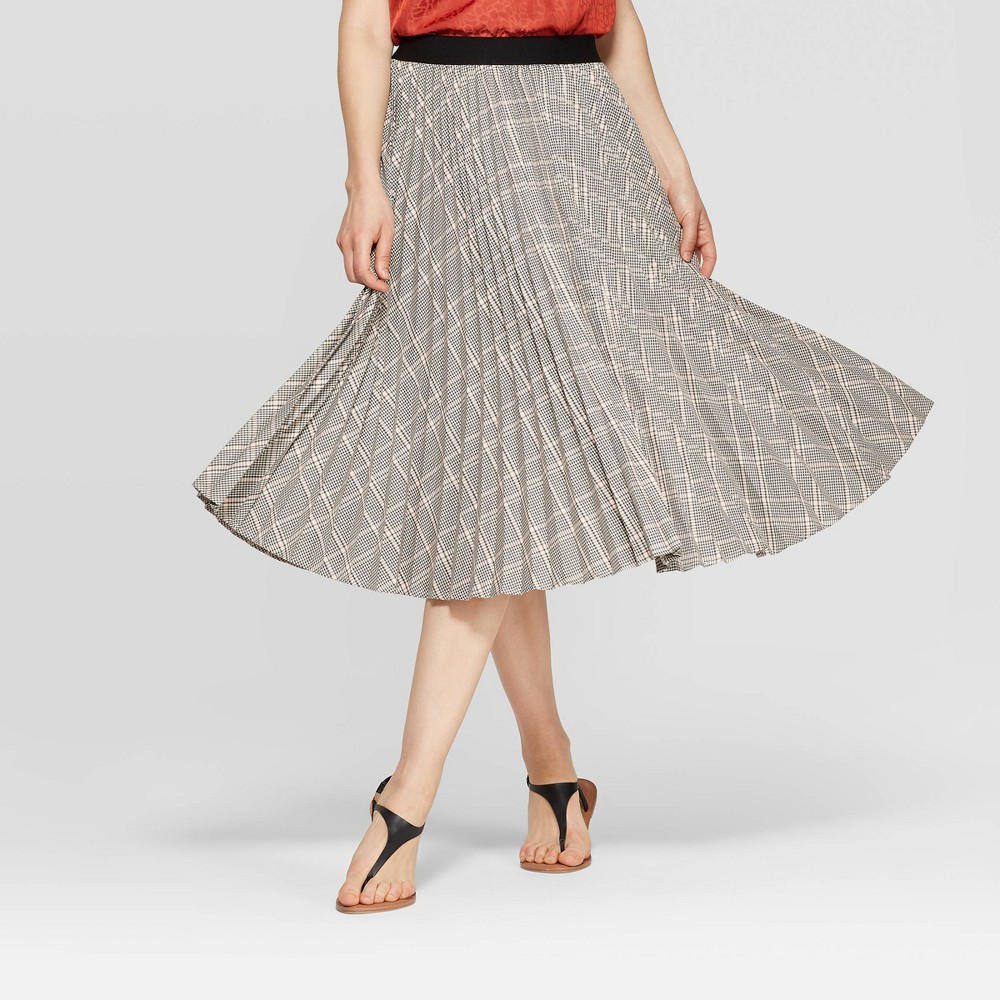 60s Skirts | 70s Hippie Skirts, Jumper Dresses Womens Relaxed Fit High-Rise Midi Skirt - A New Day Gray XXL $27.99 AT vintagedancer.com