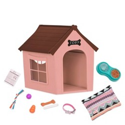 Our Generation Deluxe Dog House Set - OG Puppy House