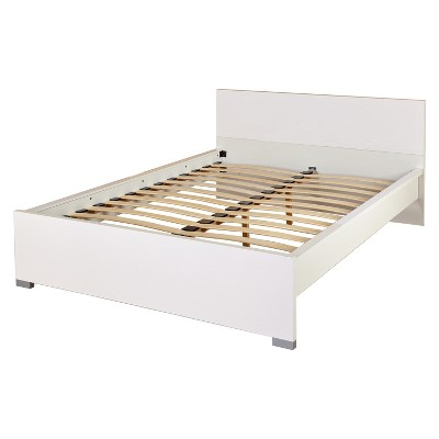 Zuri Queen Bed - White - Buylateral