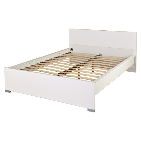 Zuri Queen Bed - White - Buylateral - image 1 of 2