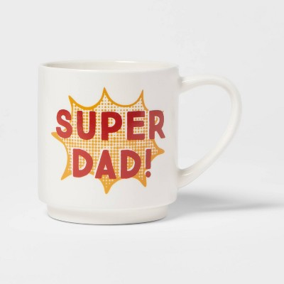 16oz Stoneware Super Dad Mug - Room Essentials™