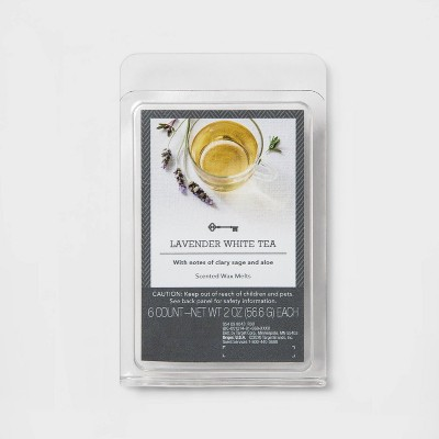 6ct Lavender White Tea Scented Wax Melts - Threshold™