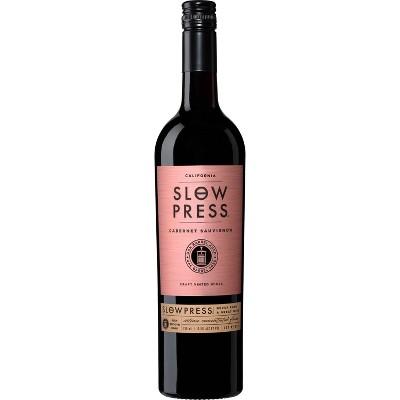 Slow Press Cabernet Sauvignon Red Wine - 750ml Bottle
