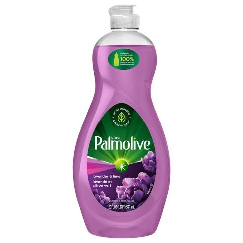 Palmolive Ultra Dishwashing Liquid Dish Soap - Lavender and Lime - 20 fl oz - image 1 of 4