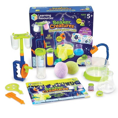 Learning Resources Beaker Creatures Monsterglow Lab, Ages 5+