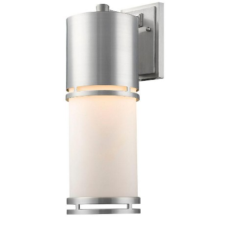 "Z-Lite 560B-BA-LED Luminata Single Light 17-5/8"" High Integrated LED Outdoor Wall Sconce - image 1 of 1"