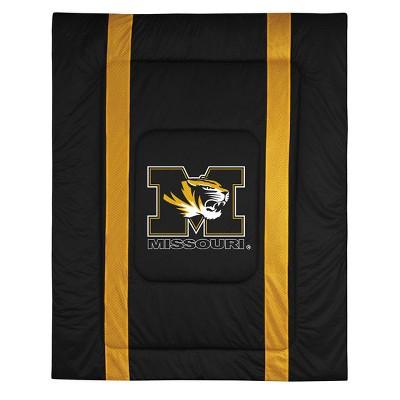 NCAA Twin Bed Comforter College Team Logo Bedding - Missouri Tigers..