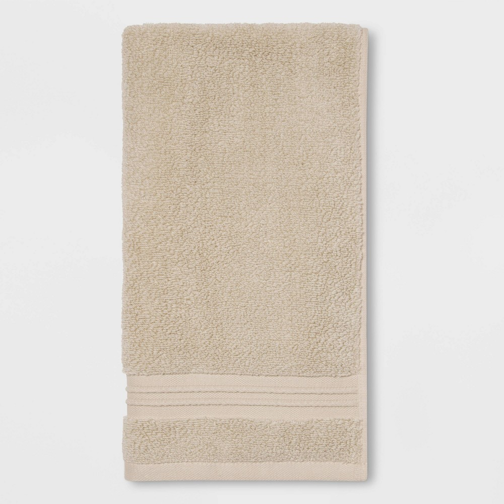 Spa Hand Towel Light Taupe - Threshold Signature Promos